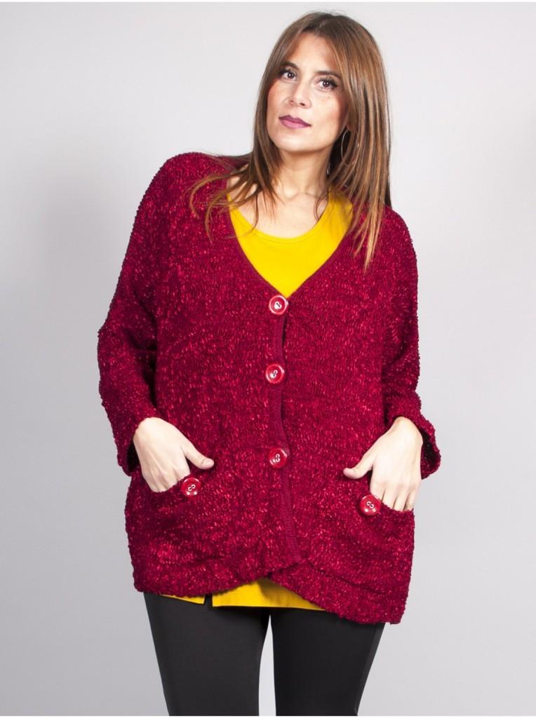 veste-oversize-rouge