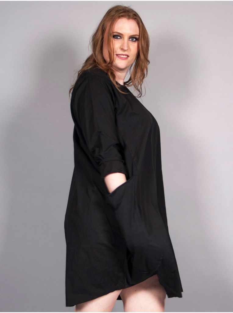 robe-bulle-a-poches-noire