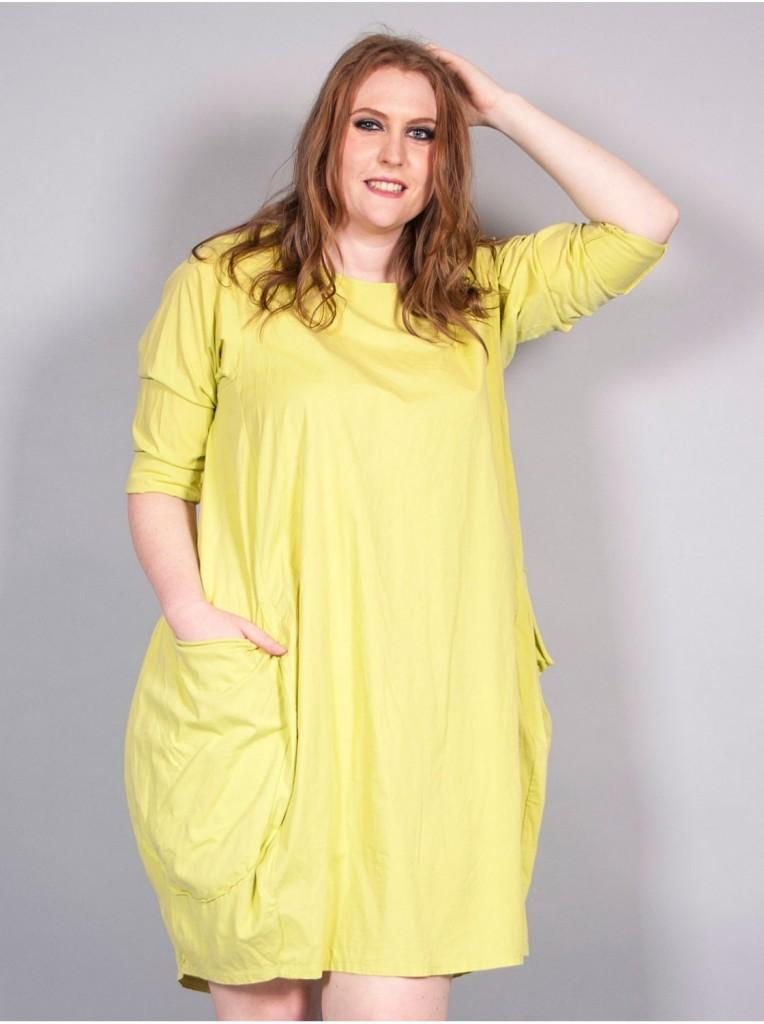 robe-bulle-a-poches-verte