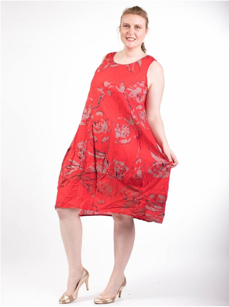 robe-printemps-rouge