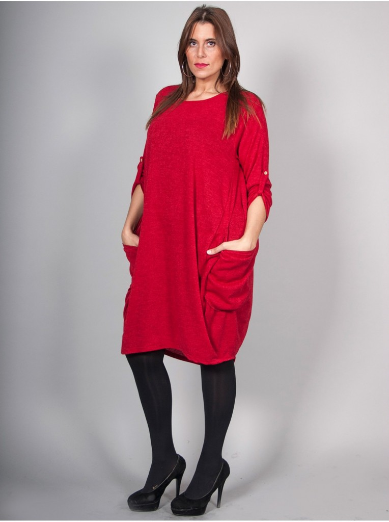 robe-pull-rouge