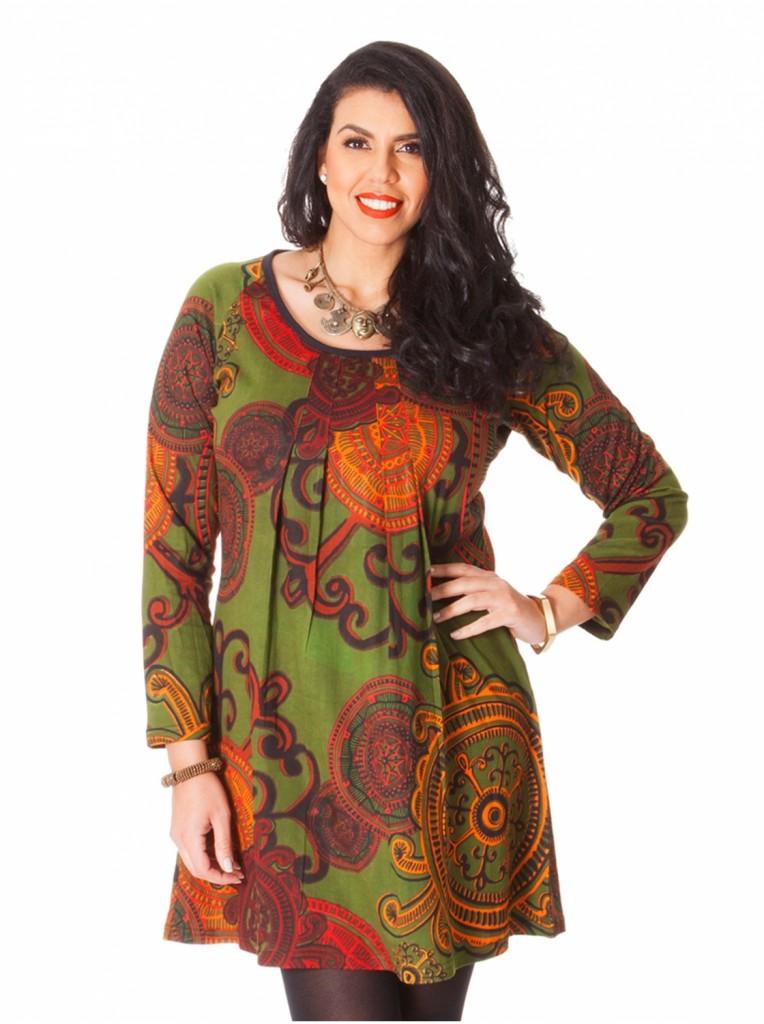 robe-tunique-vert