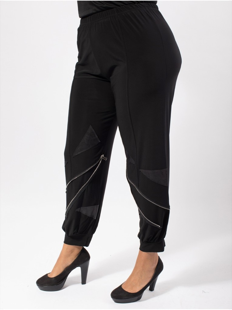 pantalon-zip-noir