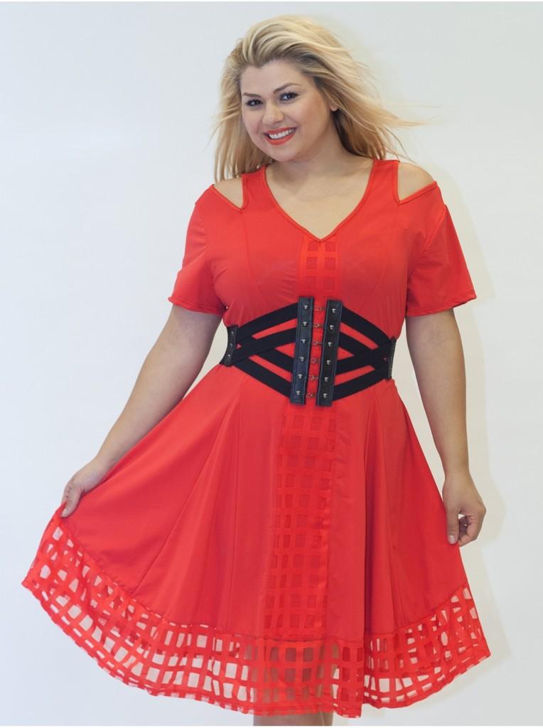 robe-dentelle-rouge