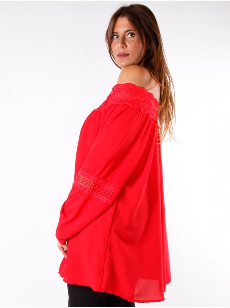 tunique-dentelle-rouge