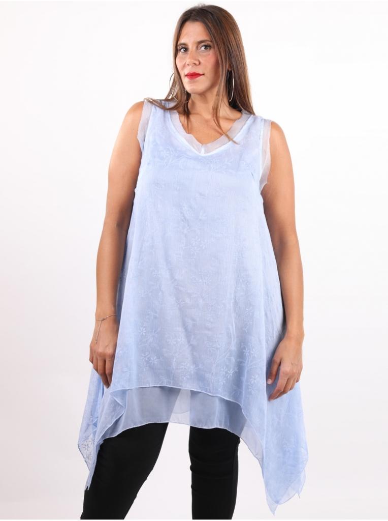 tunique-bleue-ciel-en-soie